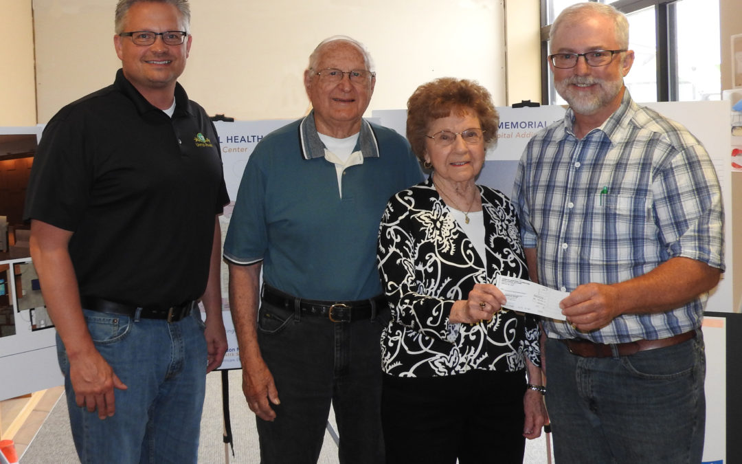 Andersons Make Extremely Generous Donation to JMHS Foundation
